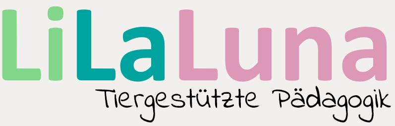 LiLaLuna tiergestützte Pädagogik Logo